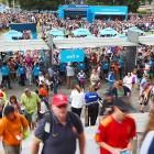 Fans pour into Melbourne Park for the first of 14 days of action at the year's first Grand Slam.