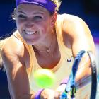 No. 1 Victoria Azarenka beat Monica Niculescu 6-1, 6-4 and could get Wozniacki in the fourth round.