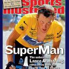 Armstrong won his fourth Tour de France, beating the nearest competitor by seven minutes.