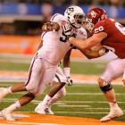 Damontre Moore's decision to leave Texas A&M early is another big loss for Aggies coach Kevin Sumlin. The projected high first-rounder had 12.5 sacks and 21 tackles for loss last season, proving Texas A&M's success came from more than just Johnny Football.