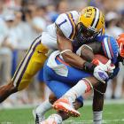With 91 tackles, two interceptions and nine passes defended, Eric Reid has reason enough for leaving LSU early. Though not as highly regarded as past Tiger defensive backs Patrick Peterson, Morris Claiborne and LaRon Landry, Reid will still likely be selected late in the first round.