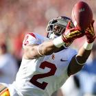 Marqise Lee supplanted Robert Woods as Matt Barkley's favorite target at USC, but that doesn't mean Woods won't still go high in the draft. Though less flashy than Lee, Woods is still a solid route-runner and can return punts.