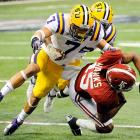 One of the most intriguing players in the 2012 NFL Draft, Tyrann Mathieu is unquestionably both an elite talent and a major question mark. The Honey Badger was a Heisman finalist after racking up six forced fumbles, four fumble recoveries, two interceptions, 11 passes defended and four touchdowns in his sophomore season. Repeated drug test failures led to Mathieu's dismissal from the LSU football team prior to the 2012 season, and he was arrested in October on charges of marijuana possession.