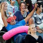 An Aussie of immense dignity was tickled pink by the first round match between his homeland's own Casey Dellacqua and Madison Keys of the US of A.