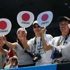 Nishikori, a quarterfinalist last year, had a boisterous contingent of fans at Melbourne Park.