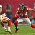 Roddy White had 100 yards receiving on seven catches, but Tarell Brown and the 49ers kept him out of the end zone.
