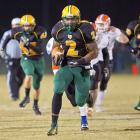 The 6-foot-3, 243-pound back is the nation's all-time leading high school rusher, and now he's heading to Alabama to continue his legacy. The pride of Yulee, Fla., broke a 59-year-old record previously held by Ken Hall of Sugarland, Texas, by surpassing Hall's 11,232 career rushing yards in November.