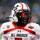 The Cypress, Texas, standout rushed for 1,869 yards and 24 touchdowns in his senior year and starred in the Under Armour All-American Game. Ford is currently committed to Oklahoma.