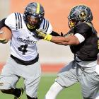 """Nicknamed """"Smoke,"""" Mizzell is a terrific all-purpose back who rushed for more than 1,300 yards and accounted for more than 2,000 all-purpose yards and 31 touchdowns in his senior season. The Virginia Beach, Va., native is currently committed to coach Mike London and the in-state Cavaliers."""