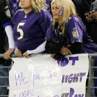 Patriots at Ravens Sept. 23, 2012