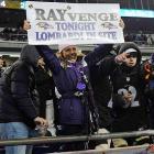 Ravens at Patriots AFC Championship Jan. 20, 2013