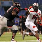 Off the recruiting radar at the onset of the season, Jones exploded for 160 tackles -- 45 for loss -- and 14 sacks as a senior. He excelled during the Under Armour All-America Game in January.