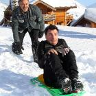 """It's all downhill for Monsieur Youn at International Comedy Film Festival in l'Alpe d'Huez where his Senor Garcia's new flick """"Vive la France"""" was unveiled."""