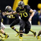 The 6-5, 315-pound stalwart anchored his high school offense in Randolph, N.J., before shining in the U.S. Army All-American Bowl.