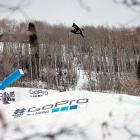 White gets some air during a slopestyle run. The slopestyle competition was supposed to feature a fierce competition between White and Canadian Mark McMorris, but while White spilled twice, McMorris cruised to gold.