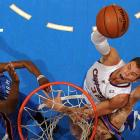 Blake Griffin rises up for a huge slam in the Los Angeles Clippers' matchup with the Oklahoma City Thunder on Jan. 22. Griffin got the poster, but the Thunder got the win, defeating the Clippers 109-97.