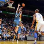 Harrison Barnes became a fan favorite in Oakland after this dunk on the Wolves' Nikola Pekovic. See every angle here.