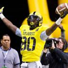 The two-sport star is a huge target -- he stands at 6-6 -- and should add another weapon to an already high-flying Texas A&M attack. The Rosenberg, Texas, product spearheaded a high school offense that averaged 34.2 points per game in 2012.