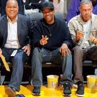 Lakers vs. Thunder Jan. 27, 2013 at Staples Center in Los Angeles