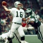 The Raiders rebounded from a first quarter interception when Plunkett found Kenny King for the longest scoring play in Super Bowl history (80 yards). He threw for a total of 261 yards and three touchdowns.