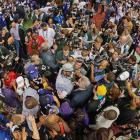 Ray Lewis was the center of attention after he ended his career with a victory on the biggest stage the NFL has to offer.
