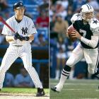 Coming out of college, Drew Henson opted for baseball, signing a contract with the Yankees to forego the NFL. However, after six years in the Yankees' and Reds' organizations with only nine at-bats to show for it, the third baseman jumped back to the NFL as a quarterback for the Dallas Cowboys. Henson saw little more success in the NFL, tossing just 18 pass attempts for the Cowboys, spending a year in NFL Europe and parts of the next two season on the Minnesota Vikings' practice squad. Henson finally caught on with the Detroit Lions in 2008 but attempted just two passes for them while fumbling twice. He is now retired for all professional sports.