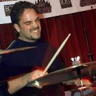 "The catcher plays the drums with ""The Bogmen"" at Le Bar Bat nightclub in New York City on Jan.22, 1999."