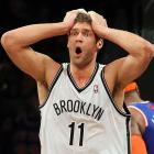 Who in the NBA <italics>hasn't</italics> expressed disbelief or disagreement with a foul call this season? Go ahead and scratch these 50 off the list of possibilities, beginning with the shellshocked Brook Lopez.