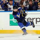 Taken by the Blues ahead of center Jordan Staal (Penguins), Johnson is still trying to deliver on the potential that impressed NHL scouts. The big, swift, offensively gifted blueliner spent a little more than two-and-a-half seasons with St. Louis before he was traded to Colorado in Feb. 2011. The rap against him: he's an injury prone underachiever who doesn't always use his mobility to maximum advantage, but the Avalanche gave him a four-year $15 million deal in July 2012, believing that, at 24, he still has time to blossom.