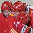 Hockey is a sport of intense emotion, and every night the Flames of love burn bright, not just in Calgary...
