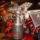 Even at the ripe old age of 121, Lord Stanley attracts ardent admirers and left wing lip locks wherever he goes...
