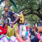 The Ravens' Super Bowl parade in Baltimore couldn't hold a candle or a stuffed toy to the Zulu Social Aid & Pleasure Club's Mardi Gras bash in New Orleans.