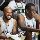Celebrities At NBA All-Star Weekend
