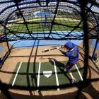 New York Mets first baseman Ike Davis takes batting practice during spring training in Port St. Lucie, Fla. On Feb. 16. Spring training games begin Feb. 22.
