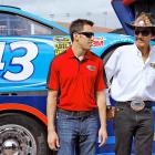 How to land a ride in NASCARS's competitive environment: Sprint Cup pilot Almirola and the grizzled legend debate the pros and cons of hitch-hiking before the Daytona 500.