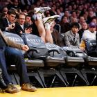 Like the Lakers guard and his fevered pursuit of a loose ball, yet another scintillating gallery comes to an unseemly end.