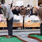 Just puttering around on NBC's Today show.
