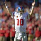 He may not be earning as much as his older brother, but Eli Manning sure isn't doing bad for himself. Manning's victory in Super Bowl XLII precipitated his current seven-year, $106.9-million deal, reached in 2009. Since then, Manning has rewarded the Giants with sometimes inconsistent regular-season play but also another Super Bowl.