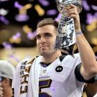 Joe Flacco picked the right year to lead the Baltimore Ravens to the Super Bowl. In addition to his Super Bowl ring in February 2013 and the Pete Rozelle Trophy, Flacco cashed in on his success with a six-year, $120.6-million contract.