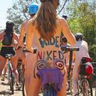 """The event in Melbourne was intended to """"peacefully expose (in a manner of speaking) the vulnerability of cyclists, humanity and nature in the face of cars, aggression, consumerism and non-renewable energy"""" not to mention drooling gawkers."""