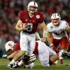 Hogan wasn't even in the conversation when Stanford's quarterback competition came to a close in the summer before the 2012 season. Yet by the end of the year, there was no question who possessed the reins to the Cardinal's efficient attack. Although Hogan's numbers weren't necessarily eye-popping, he succeeded in the No. 1 job of any quarterback: winning games. Stanford went 6-0 in the games in which Hogan was the primary quarterback. He threw for 1,087 yards and eight touchdowns to lead Stanford to victories in the Pac-12 championship game and the Rose Bowl.