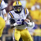 Ware is leaving LSU less because he has so clearly demonstrated he's ready for the NFL than because he won't get much of an opportunity to show anything more in 2013. Ware lost favor and carries in Les Miles' running-back-by-committee approach to Jeremy Hill, getting 94 carries and picking up 367 yards on the ground. He still put together a nice season catching passes out of the backfield, gaining 230 yards on 18 receptions. Ware lacks great speed but is a powerful runner who is not afraid to take on defenders.