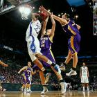 The top-seeded Kansas Jayhawks were a favorite to challenge for the title in Detroit, but their trip ended early. The Northern Iowa Panthers took advantage of Kansas' weakness to eek out a 69-67 victory and punch their ticket to the Sweet Sixteen.