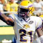 Rogers made 61 catches for 893 yards and 10 touchdowns in 11 games playing against FCS-level competition last year. Dismissed from Tennessee before the season, Rogers opted for Tennessee Tech rather than having to sit out a year at another FBS school. NFL teams will have to determine Rogers' maturity and whether he is worth the risk.