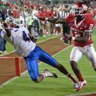 The junior college transfer shined in his two seasons at Louisiana Tech, topping 1,200 yards and 10 touchdowns in both seasons. Patton has impressive quickness and posted one of the fastest 20-yard shuttle times at the combine. The two-time first-team All-WAC receiver has great body control, especially near the sidelines, but sometimes struggles to complete catches when contested.