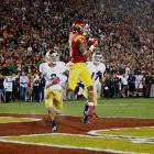 Woods' role diminished in USC's passing attack after Marqise Lee established himself as the clear No. 1. After catching 111 passes for 1,292 yards as a sophomore, Woods fell to 74 catches for 849 yards in 2012 while playing through an ankle injury. Still Woods is an excellent route runner and not afraid to go over the the middle.