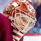 The Canucks wore retro Vancouver Millionaires jerseys on March 16, in honor of 100 years of professional hockey in Vancouver. Backup goalie Cory Schneider's mask had a tribute to Millionaire goalie legend Hugh Lehman on one side, and the whole Millionaire team on the other side. Here's a look at some other goalies who have chosen to honor their renowned predecessors.