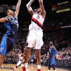 """Aldridge capped the Blazers' 21-point comeback with a turnaround jumper over Brandan Wright to beat the Mavericks 106-104 in Portland. """"This is what you live for,"""" Aldridge said. """"That one felt great. That one felt real easy."""""""