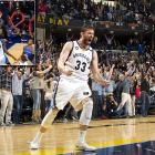 After Grizzlies teammate Jerryd Bayless sent the game to overtime with a late three-pointer, Gasol tipped in Zach Randolph's miss with 0.8 seconds left to give Memphis a 90-89 home victory over Oklahoma City.