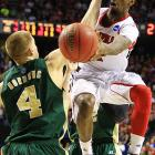 <bold>Defeated North Carolina A&T 79-48</bold> <bold>Defeated Colorado State 82-56 </bold> <bold>Next: Oregon </bold>(<bold><italics>SI's live bracket</italics></bold>) <bold>Louisville guard Russ Smith had a game-high 27 points and two assists as the tournament's No. 1 overall seed won its 11th straight game. </bold>